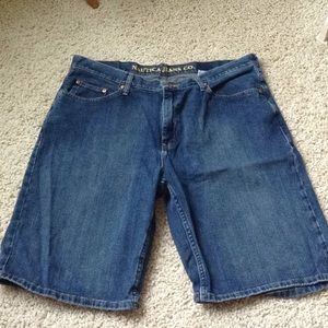 Nautica men's jean shorts size 36